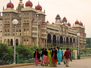 Maharadschapalast in Mysore bei Indien Highlights Rundreise