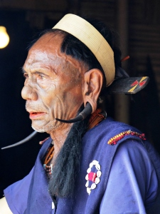 Traditionelles Fest in Nagaland