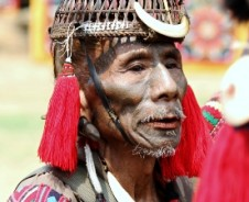 Die Kopfjäger im ursprünglichen Nagaland