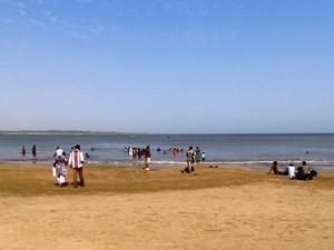 Der Nagoa Strand auf Diu