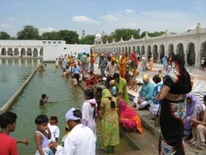 Sikh-Tempel in Delhi, Indien Rundreise