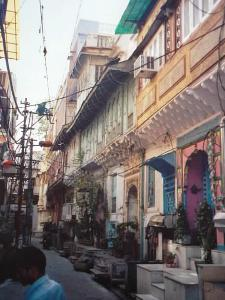 Straßenbild in Orchha