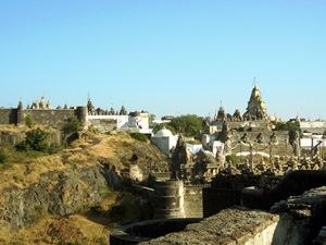 Jain-Tempel in Palitana bei Indien Reise durch Gujarat