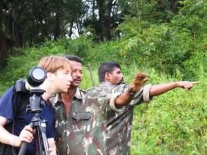 Tiger Trail im Periyar Nationalpark bei einer Südindien Reise.