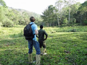 Trekking mit Guide im Periyar Nationalpark