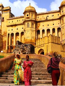 Sightseeing in Indien