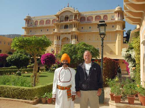 Ausflug zum Maharadscha Palast in Samode bei Ihrer Rundreise durch Nordindien