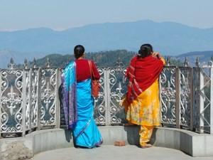 Himalaya Reisen Indien Ausblick Berge
