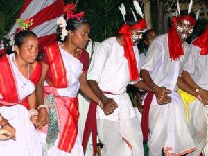 Traditionelle Stammes Vorstellung