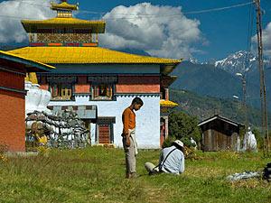 Sikkim Reise Tashiding Kloster
