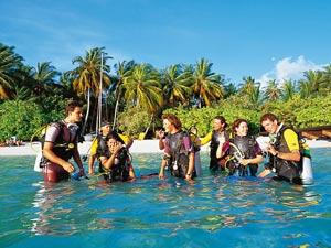 Tauch-Tripp während Ihrem Malediven Urlaub