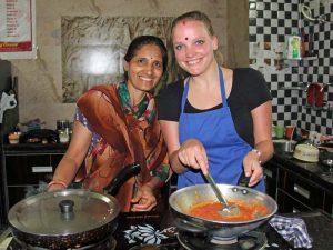Kochkurs in Indien