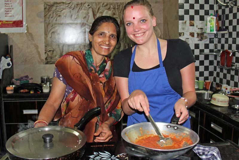 Indischer Kochkurs in Udaipur bei Indien Reise