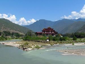 Dzongs in Bhutan