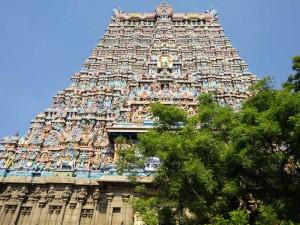 Tamil Nadu Reise Madurai Minakshi-Tempel Südindien
