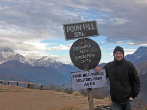Trekken im Himalaya-Gebirge