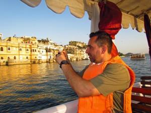Auf dem See in Udaipur