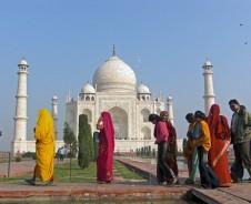 Weltwunderroute zum Taj Mahal