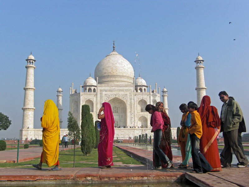 Nordindien Highlights Rundreise Taj Mahal