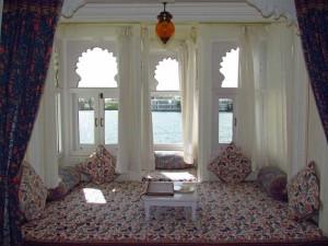 Sitzecke im Udaipur Haveli
