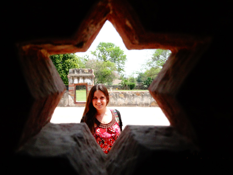 Das Qutb Minar in Neu Delhi