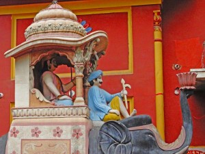 Elefanten-Statue in Delhi bei Rajasthan Rundreise