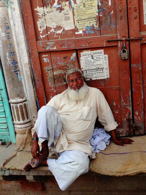 Rajasthan Rundreise Karauli Altstadt