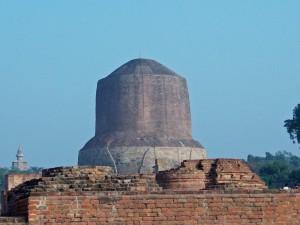 Indien Nepal Rundreise nach Stupa in Sarnath