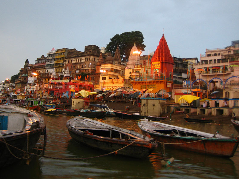 Ghats von Varanasi