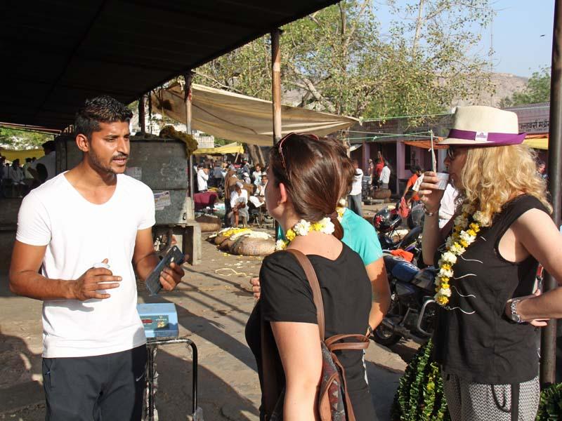 Guides erklären Ihnen Jaipur bei Ihrer Reise durch Nordindien