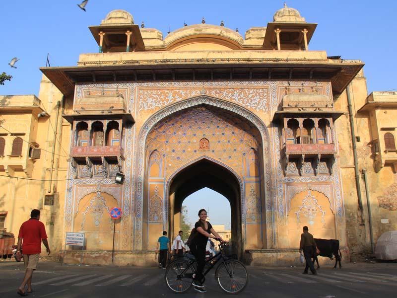 Indien Norden Rundreise Radtour Jaipur