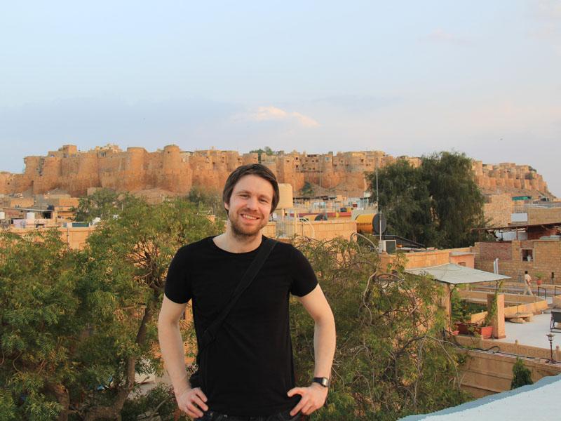 Fort in Jaisalmer bei Jaisalmer Reise