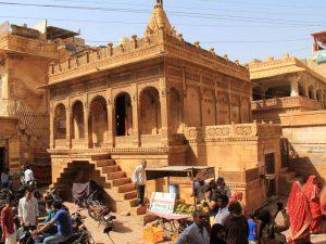 Platz Jaisalmer bei Reise durch Indien erkunden