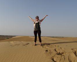 Auf den Sanddünen