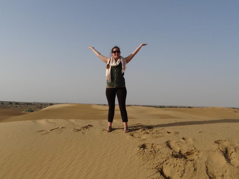 Nordindien Rundreise: entdecken Sie Jaisalmer bei einer Jeep-Safari.