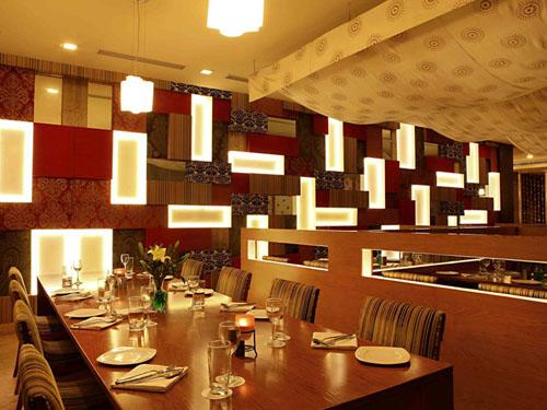 Eines der Restaurants im Hotel