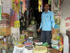 Netter Shopbesitzer