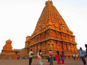 Brihadeshvara Tempel in Tanjore bei Südindien Rundreise