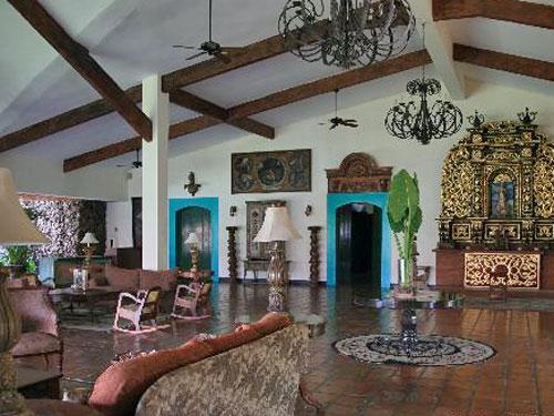Hotel Leon lounge