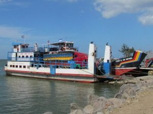 Nicaragua rondreis: ferry Ometepe