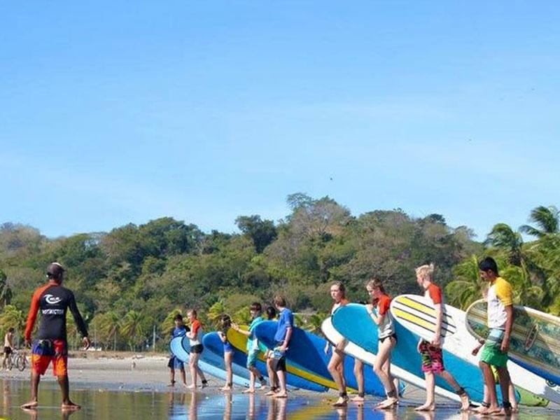 Surfen-excursie