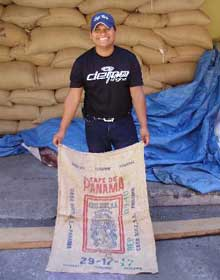 Koffiebonen uit Panama
