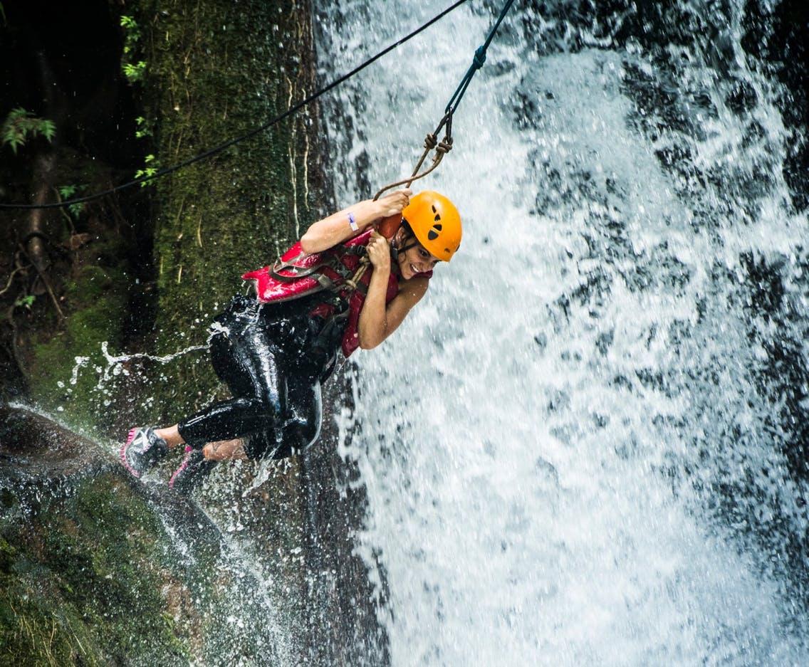 Rincon de la Vieja canyoning