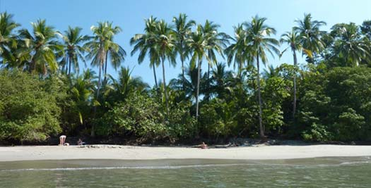 Costa Rica reis strand