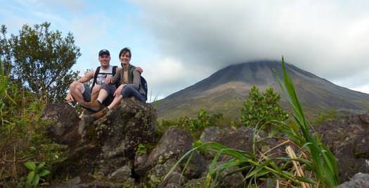 Vulkaan tijdens je Costa Rica vakantie