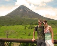 Badderen bij de vulkaan