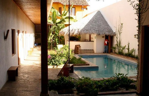 Granada hotel zwembad