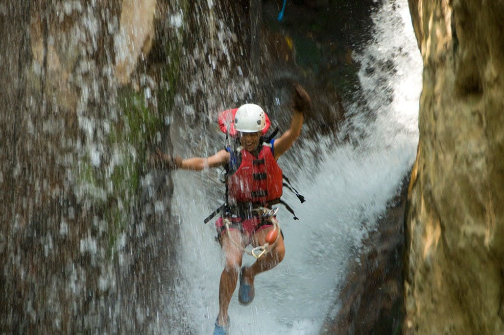 Canyoning reis Costa Rica