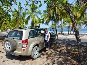 Aan de kust van Costa Rica