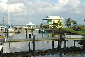 Panama reis: huis aan water